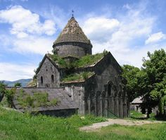 Sanahin Monastery is an Armenian monastery founded in the 10th century in the Lori Province of Armenia.