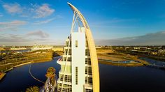 Port Canaveral Exploration Tower - Learn more about the project at:  http://www.alpolic-americas.com/en/example-projects?utm_source=Pinterest&utm_medium=social&utm_campaign=alpolic_website_june