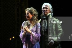 Renée Fleming and Dmitri Hvorostovsky. Curtain call at the 125th Anniversary Gala at Met Opera, 2009.