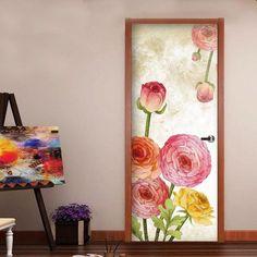 Door Decals – the treasure thrift Interesting Conversation, Door Stickers, Door Wall, Internal Doors, Door Ideas, Glass Design, Thrift, Door Handles, Centerpieces