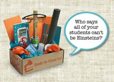 Weekly Giveaway: Science Experiments in a Box for grades 3-8. Got a formula? This looks really fun to enter. Some lucky student... at Edutopia.