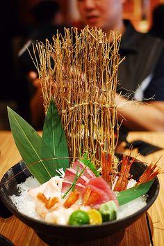 sashimi ... I'm ready - it looks great, Kyouko Usami