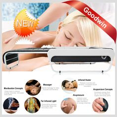 bed massager with jade rollers Far Infrared Thermal Jade Massage Bed