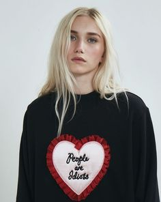 Lazy Oaf People are Idiots Sweatshirt - Everything - Categories - Womens