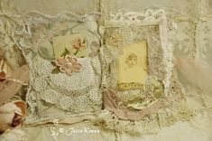 Lace Age Girl: Vintage lace and fabric book