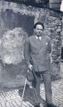 Kurt Tucholsky (1890-1935), deutscher Dichter, Schriftsteller, Journalist und Pazifist, aus Berlin