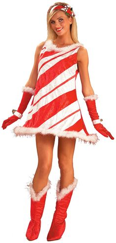 Christmas cosplay costumes for cosplayers. Buy a cute candy cane cosplay costume online. Many sizes and styles of Candy Cane cosplay to choose from. Candy Cane Costume, Candy Costumes, Holiday Costumes, Adult Costumes, Costumes For Women, Teacher Costumes, Costumes Kids, Theatre Costumes, Animal Costumes