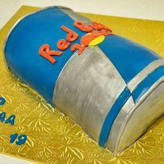 Red Bull Cake cakepins.com