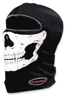 Schampa Lightweight Skull Balaclava (Traditional) Lightweight fabrics make this balaclava great year round. One of 5 amazing styles. One Size Fits Most. Great under any style helmet Your choice of skull designs Any season usage Neoprene Face Mask, Snowboarding Outfit, Full Face Helmets, Ski Gear, Full Face Mask, Balaclava, Big Men, Bike Life, Tactical Gear