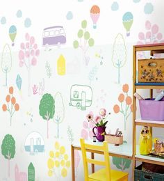 Mural de papel pintado Eijffinger Rice. Ref. 359170.