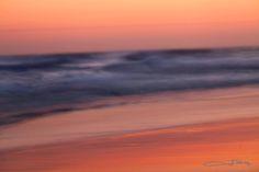 Slow Shutter Shoreline Sunrise