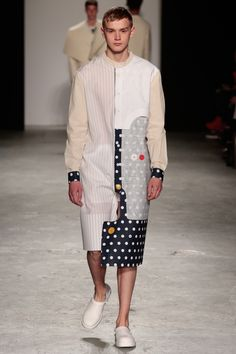 James Pawson graduated from the BA(Hons) Fashion Design course at the University of Westminster in 2013