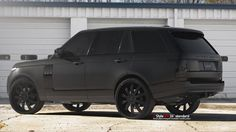 2013 Range Rover Matte Black