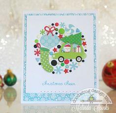 Doodlebug Design Inc Blog: Christmas Card (production line) with Melinda