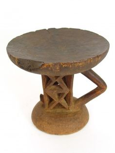 Antique Tonga Stool - One of a Kind  $195.00. This one of a kind authentic Tonga Stool is hand carved from a single piece of wood by the Tonga people in Zimbabwe. Traditionally, Tonga stools were important status symbols used by elders as a portable seat. This piece bears the marks of one used in daily life, adding to its charm and value.