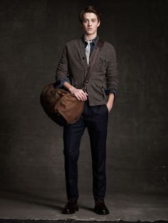 j crew: epitome of my style if I had the tie. . .