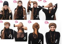 Turban Tutorial | Hocuspocuspuff