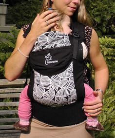 Love this Black Special Edition Trek Organic Baby Carrier by Chimparoo on   zulily!   2959ea4cdb0
