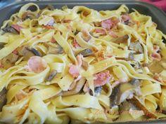 Ζουζουνομαγειρέματα: Ταλιατέλες στο φούρνο Pasta Recipes, Cooking Recipes, Healthy Recipes, Cooking Pasta, Peruvian Recipes, How To Cook Pasta, Pasta Dishes, Pasta Salad, Cabbage