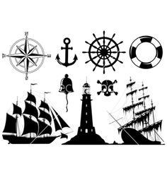 old nautical symbols - Google Search