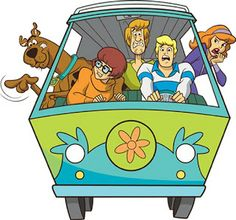 Scooby Doo - Complete Kit with frames for invitations, labels for snacks, souvenirs and pictures!   Making Our Party