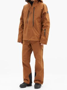 Three-layer shell hooded ski jacket   Holden   MATCHESFASHION UK