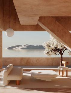 Minimalist Architecture, Beautiful Architecture, Minimalist Design, Interior Architecture, Modern Interior, Home Interior Design, Interior And Exterior, Interior Decorating, Decorating Ideas