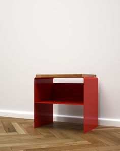 jimi wood and metal bedside table: check out a new twist on the, Moderne