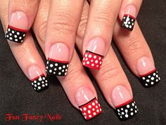 Minnie in mind - Nail Art Gallery nailartgallery.nailsmag.com by nailsmag.com