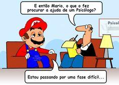 Por que o Super Mario foi ao Psicólogo? http://wp.me/p90oS-ad