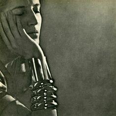 Man Ray - Jacqueline Goddard with Bracelets