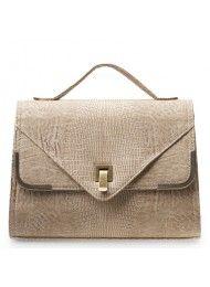 de nieuwe 2011 vintage hagedis patroon forens zak messenger bag aktetas laptop