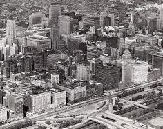 Michigan Avenue, Chicago 1950