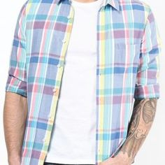 Offering premium comfort Brighton Check Flannel Shirts Manufacturer in Canada and Australia at wholesale prices on bulk purchase from biggest Uniform supplier Oasis Uniform. Flannel Outfits, Mens Flannel Shirt, Flannel Clothing, Smart Casual Outfit, Casual Outfits, Men Casual, Dark Denim Jeans, Plaid Design, Check Shirt