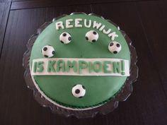 Korfbaltaart voor Matthias Cake, Desserts, Food, Tailgate Desserts, Deserts, Food Cakes, Eten, Cakes, Postres
