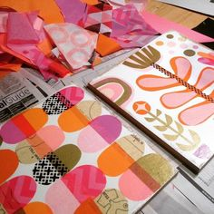 #pink shapes and pink #succelents That was my weekend--how was yours? #cutpaper…