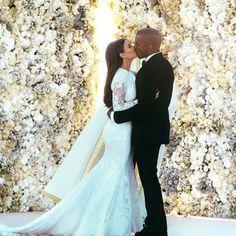 La boda de Kanye West y Kim Kardashian