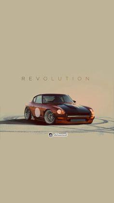 Tuner Cars, Jdm Cars, Cute Cartoon Wallpapers, Car Wallpapers, Qhd Wallpaper, Fox Body Mustang, Japanese Domestic Market, Car Illustration, Japan Cars