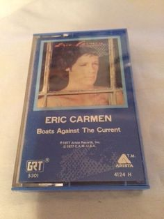 Boats Against The Current by Eric Carmen Cassette Tape 1977 Arista Records #SoftRock