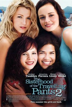 SISTERHOOD OF THE TRAVELING PANTS 2: America Ferrera, Alexis Bledel, Amber Tamblyn, Blake Lively - 2008