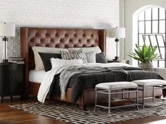 Dublin is a fully upholstered straight frame with elegantly proportioned wings that is available as a headboard or a complete bed. Features include a bo. Modern Headboard, Headboards For Beds, Modern King Bed Frame, Modern Beds, Modern Bedroom, Bedroom Furniture, Bedroom Decor, Furniture Showroom, Luxury Furniture