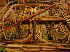 N Scale Layout Top view