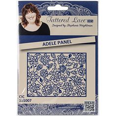 Create and Craft Adele Panel Tattered Lace Metal Die
