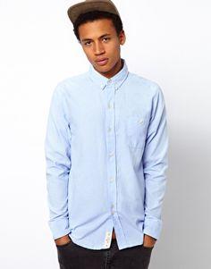 Bellfield 'Society' Shirt in sky blue