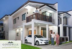 Quality Aphrodite 100 is a home unit in one of the development in Mohon, Talisay City, Cebu with an exclusive community, fantastic amenities for the family Two Story House Design, Two Story Homes, Cebu, Aphrodite, The Unit, Mansions, House Styles, Community, Home Decor