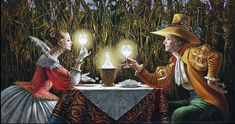 Delighted by light, de Michael Cheval