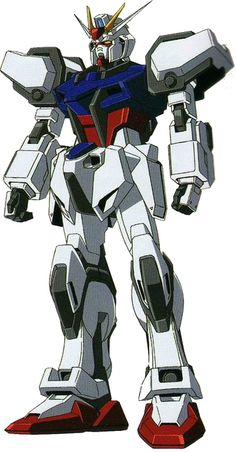 The GAT-X105 Strike Gundam is a prototype multi-mode mobile suit, it was featured in the anime Mobile Suit Gundam SEED. Its primary pilot was Kira Yamato before it was passed down to ace pilot Mu La Flaga.