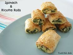 Easy Spinach and Ricotta Rolls Recipe