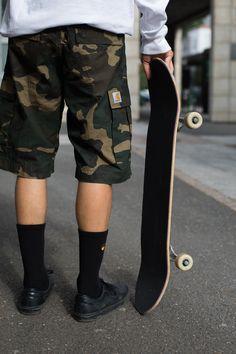 Attention Span, Carhartt Wip, Chino Shorts, Rubber Rain Boots, Sick, Camo, Streetwear, Men's Fashion, Seasons