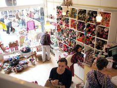 Loop yarn store London - my idea of shopping heaven!!